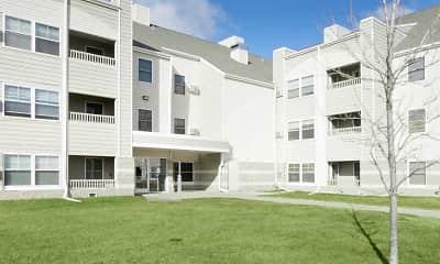 Building, West Winds Apartments, 2