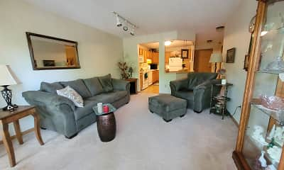 Living Room, Lakewood Place Apartments, 1
