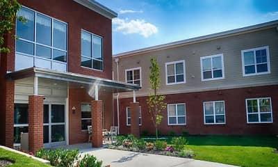 Building, Springside School Apartments, 0