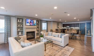 Living Room, The Muse and Cottages at Town Center - Senior 55+, 0