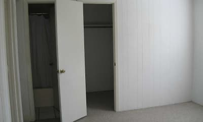 Bedroom, Myers Apartments, 2
