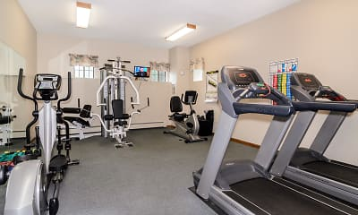 Fitness Weight Room, Pine Tree Garden, 2