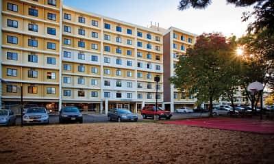 Building, Regent Apartments, 1