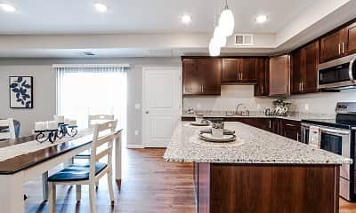 Kitchen, Encore Apartments, 0