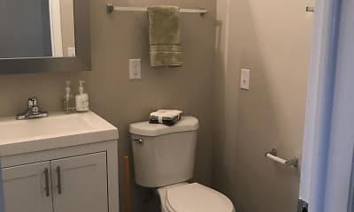 Bathroom, Adeline Circle Apartments, 2