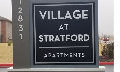 Community Signage, Village at Stratford, 0