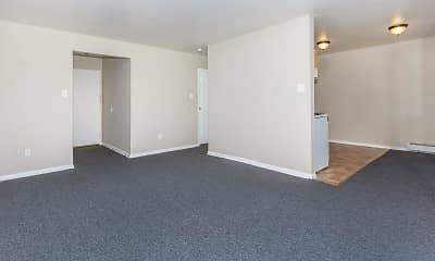 Living Room, Chestnut Square Apartments, 0