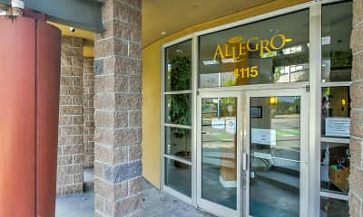 Leasing Office, Allegro, 2