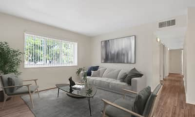 Living Room, Pedestal Gardens, 1