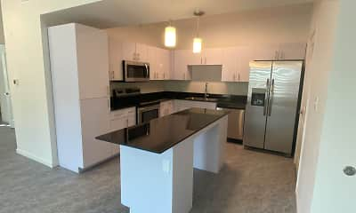 Kitchen, Hampton Astoria, 1