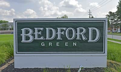 Community Signage, Bedford Green Apartments, 2