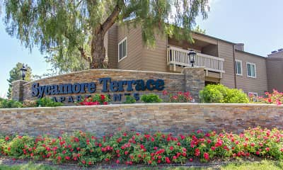 Community Signage, Sycamore Terrace Apartments, 2