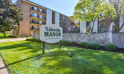 Community Signage, Lincoln Manor Apartments of Wadsworth, 0