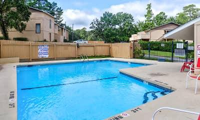Pool, Hidden Oaks I, 1
