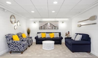 Living Room, Ocean Point, 1