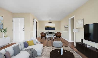 Living Room, Lakeshore on the Hill, 0