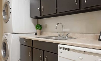 Kitchen, Forestbrook Apartments, 1