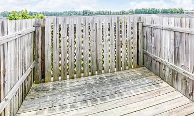 Patio / Deck, Northstone Apartments, 2