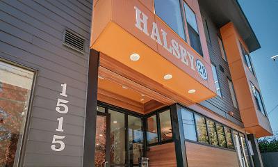Community Signage, Halsey 28, 1