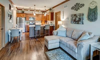 Living Room, Conifer Ridge Apartments, 1