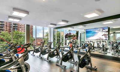 Fitness Weight Room, TriVista on Speer, 1