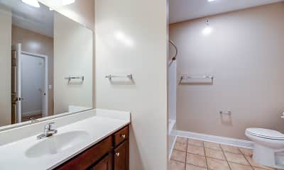 Bathroom, Carrington Court, 2