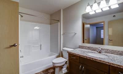 Bathroom, Eagles Landing Apartments, 2