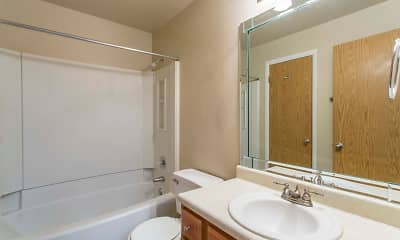 Bathroom, Stillwater Apartments, 2