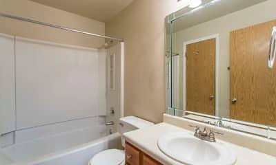 Bathroom, Stillwater Apartments, 2