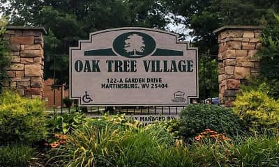 Community Signage, Oak Tree Village, 0