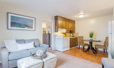 Living Room, Tri County Apartments/Ivey Creek Apartments, 1