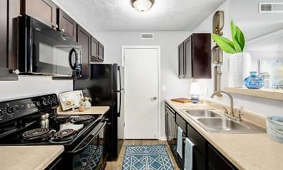 Kitchen, The Gardens Apartments, 1
