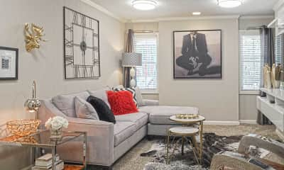 Living Room, Sierra Hills, 1