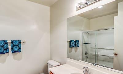 Bathroom, Vineyard Meadows Apartments, 2