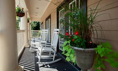 Patio / Deck, Coursey Place Apartment Homes, 2