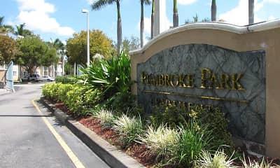 Community Signage, Pembroke Park, 2