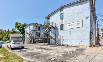 Building, Penthouse Apartments, 1