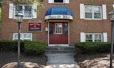Building, Burritt West, 1