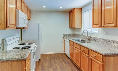 Kitchen, Mountain View Mansion Apartments, 1