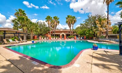 Pool, Westwood Plaza, 2