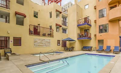 Pool, 600 Front Apartments, 1