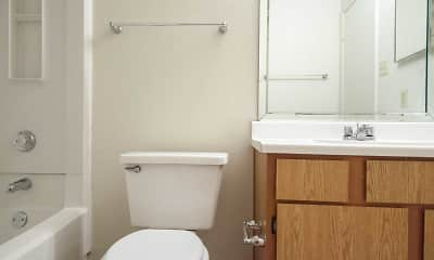 Bathroom, Southwood Village Apartments, 2