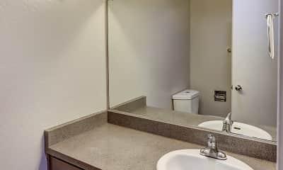 Bathroom, Hillside Garden Apartment Homes, 2