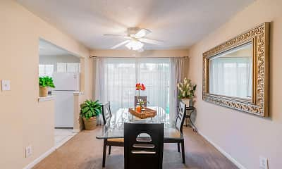 Dining Room, The Park At Northside Apartment Homes, 1
