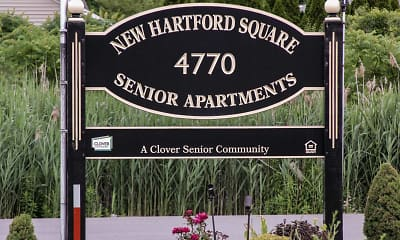 Community Signage, New Hartford Square Senior Apartments, 2