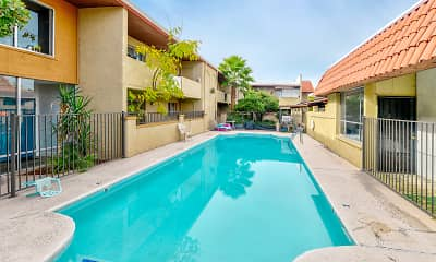 Pool, Berridge Villa Apartments, 0