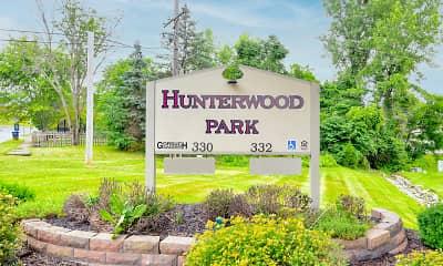Community Signage, Hunterwood Park, 2