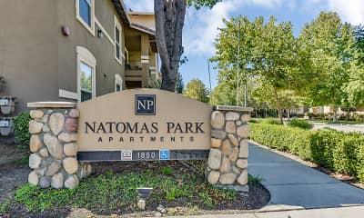 Community Signage, Natomas Park, 2