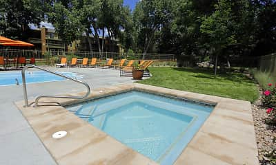 Pool, Woodland Hills Apartments, 2
