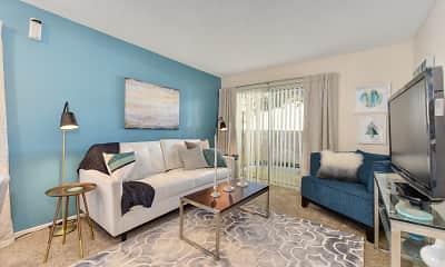 Living Room, West Park Villas, 1